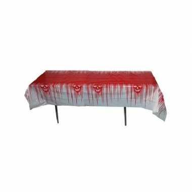 Bloederig tafelkleed 270x136 cm