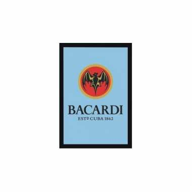 Cafe versiering bacardi wand spiegel
