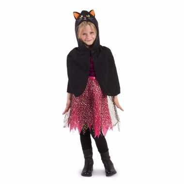 Cape zwarte kat met oren kind