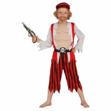 Carnaval jongens piratenpak