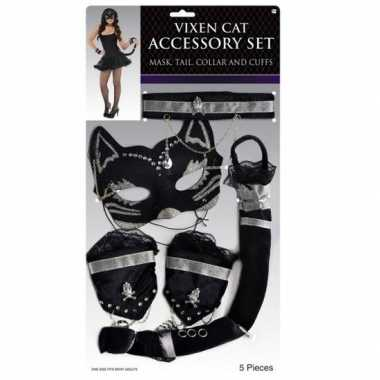 Carnaval katten/poezen verkleedkleding