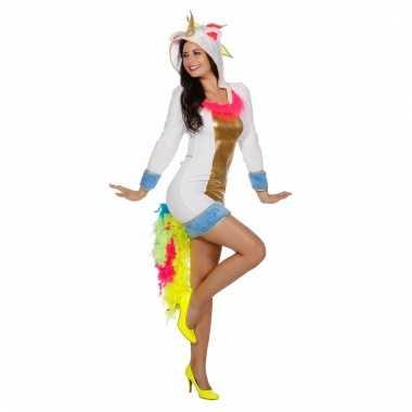 Carnaval outfit eenhoorn voor dames