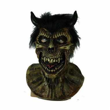 Carnavals masker enge duivel
