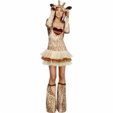 Carnavalskleding girafje voor dames