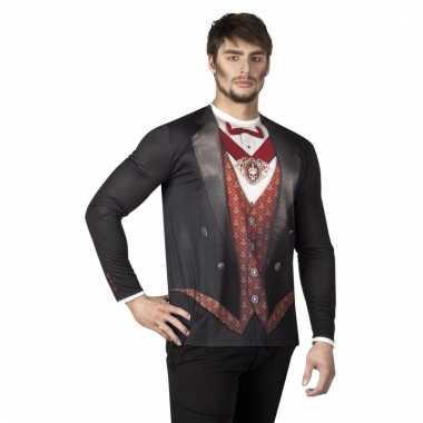 Carnavalskostuum vampier herenshirt