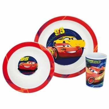 Cars lunch set voor kinderen