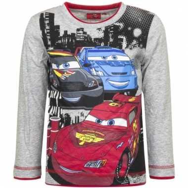 Cars t-shirt mc queen grijs