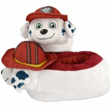 Cartoon sloffen paw patrol marshall