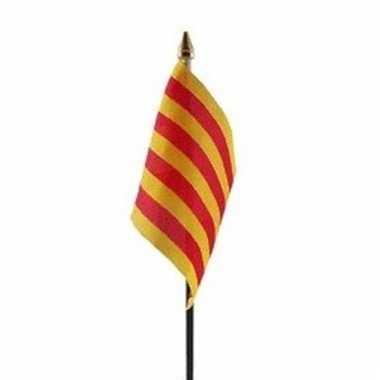 Catalaanse landenvlag op stokje