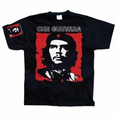 Che guevara heren t-shirt zwart