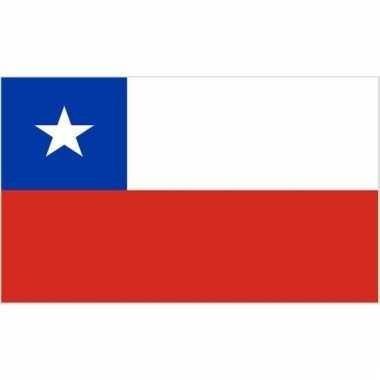 Chileense vlag mini 60 x 90 cm