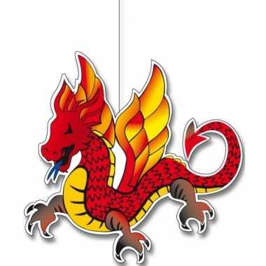 Chinese draken hang versiering 30 cm