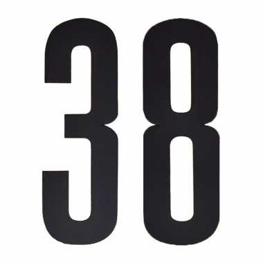 Cijfers / nummers stickers 38