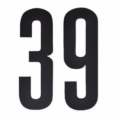 Cijfers / nummers stickers 39