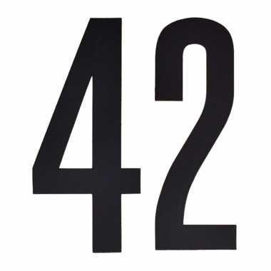 Cijfers / nummers stickers 42