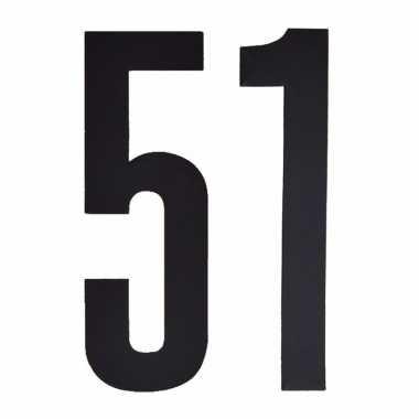 Cijfers / nummers stickers 51