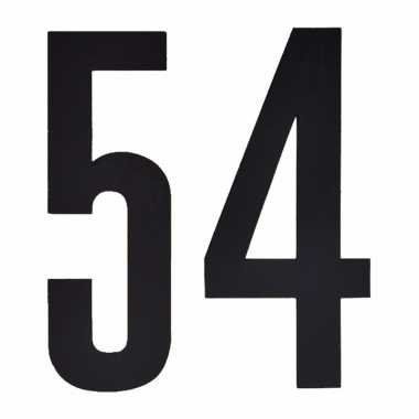 Cijfers / nummers stickers 54