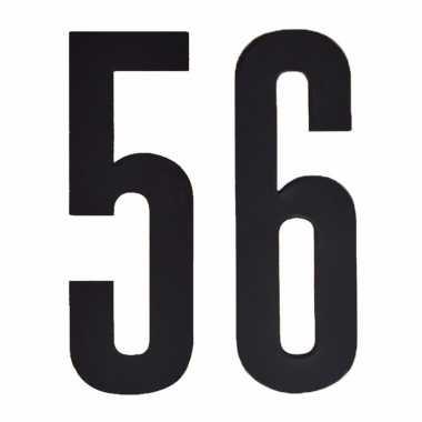 Cijfers / nummers stickers 56