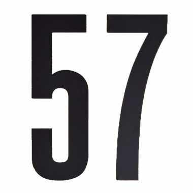 Cijfers / nummers stickers 57