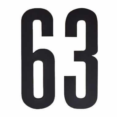 Cijfers / nummers stickers 63