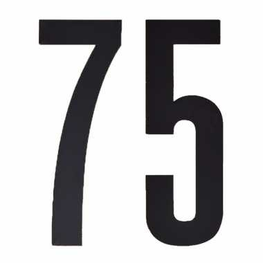 Cijfers / nummers stickers 75