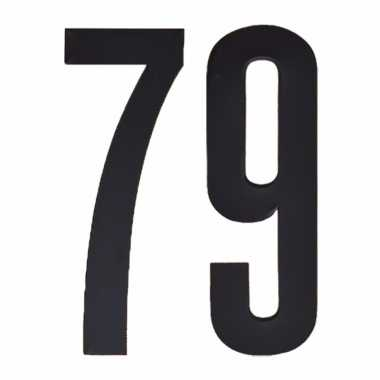 Cijfers / nummers stickers 79