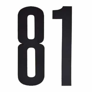 Cijfers / nummers stickers 81