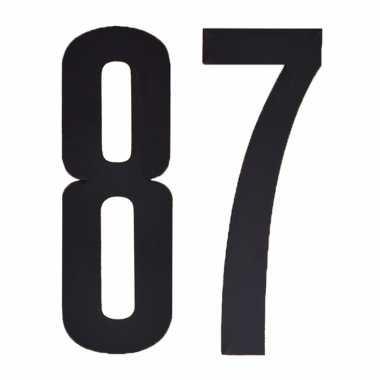 Cijfers / nummers stickers 87