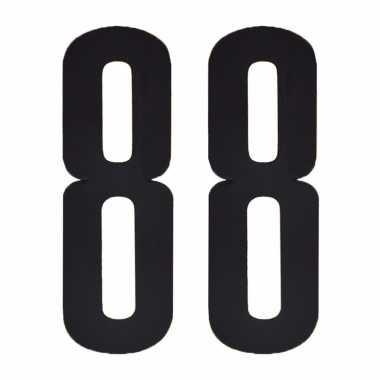 Cijfers / nummers stickers 88