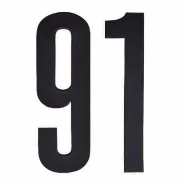 Cijfers / nummers stickers 91