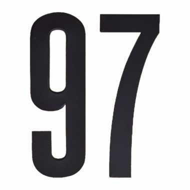 Cijfers / nummers stickers 97