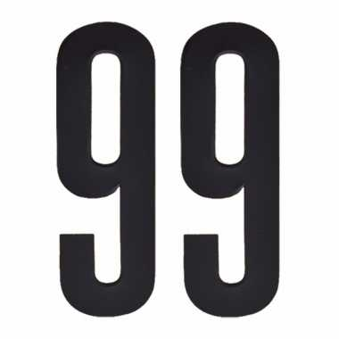 Cijfers / nummers stickers 99
