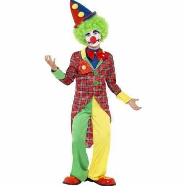 Clown carnaval outfit voor kids