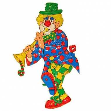 Clown wanddecoratie