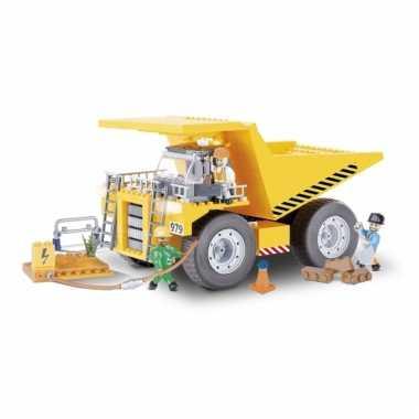 Cobi kiepwagen set