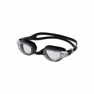 Competitie zwembrillen voor volwassenen zwart