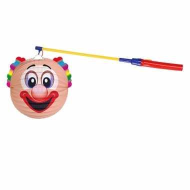 Complete lampionset clown 22 cm