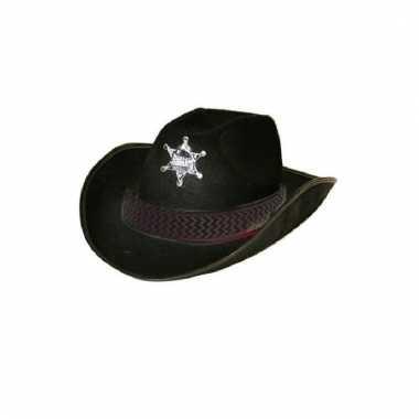 Cowboy hoed met ster volwassenen