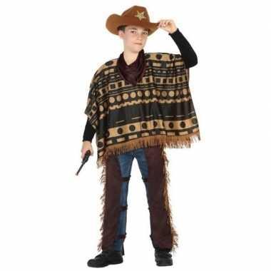 Cowboy/western pak/verkleed kostuum voor jongens