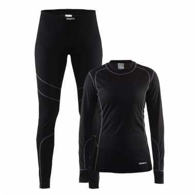 Craft thermo schaats shirt en broek voor dames