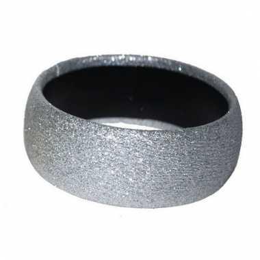 Dames armband in de kleur zilver