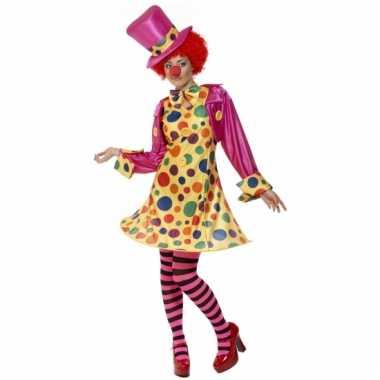 Dames clowns verkleedkleding