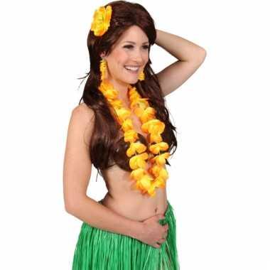 Dames hawaii accessoire set