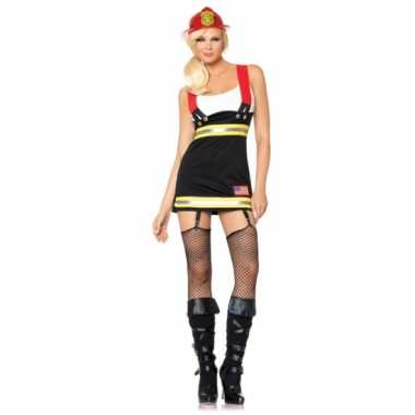 Dames verkleedkleding brandweer