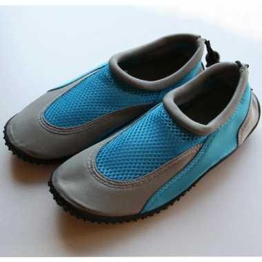 Dames waterschoentjes blauw