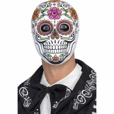 Day of the dead senor bones masker