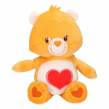 De troetelbeertjes knuffel oranje 22 cm