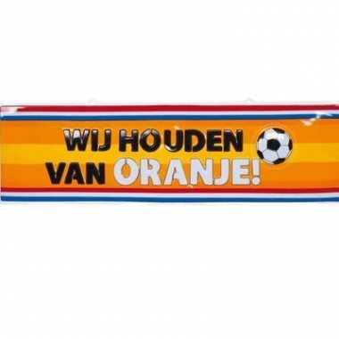 Decoratie bord holland 115x35 cm