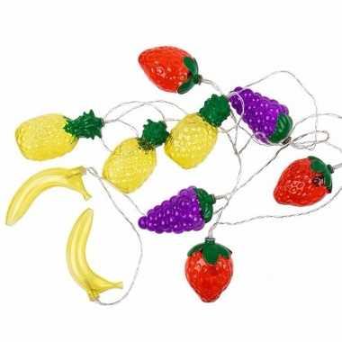 Decoratie led verlichting fruit 200 cm