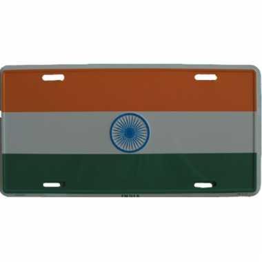 Decoratie plaat india